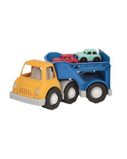 Camion transporteur avec 2 voitures