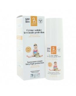 Crème solaire haute protection bébé - Laboratoire Gravier