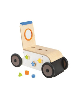 Chariot de marche évolutif en bois Woody