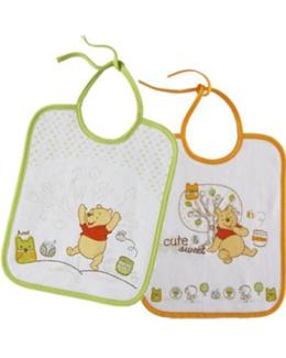 Bavoirs naissance doodle craft winnie (x2)