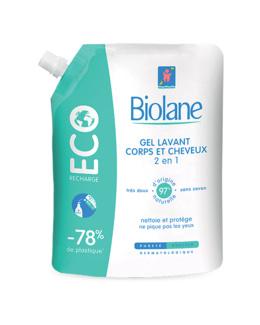 Gel lavant corps et cheveux (Eco-recharge)