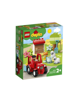 Duplo - Ma ville - Le tracteur et les animaux