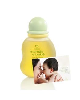 Huile de massage végétale Mamãe e Bebê