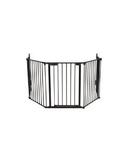 Barrière de sécurité - Grille de protection pour enfants pour cheminée et escaliers