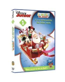 DVD La Maison de Mickey - A la rescousse du père Noël