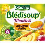 BLEDISOUP' Légumes variés 2x250 ml dès 6 mois