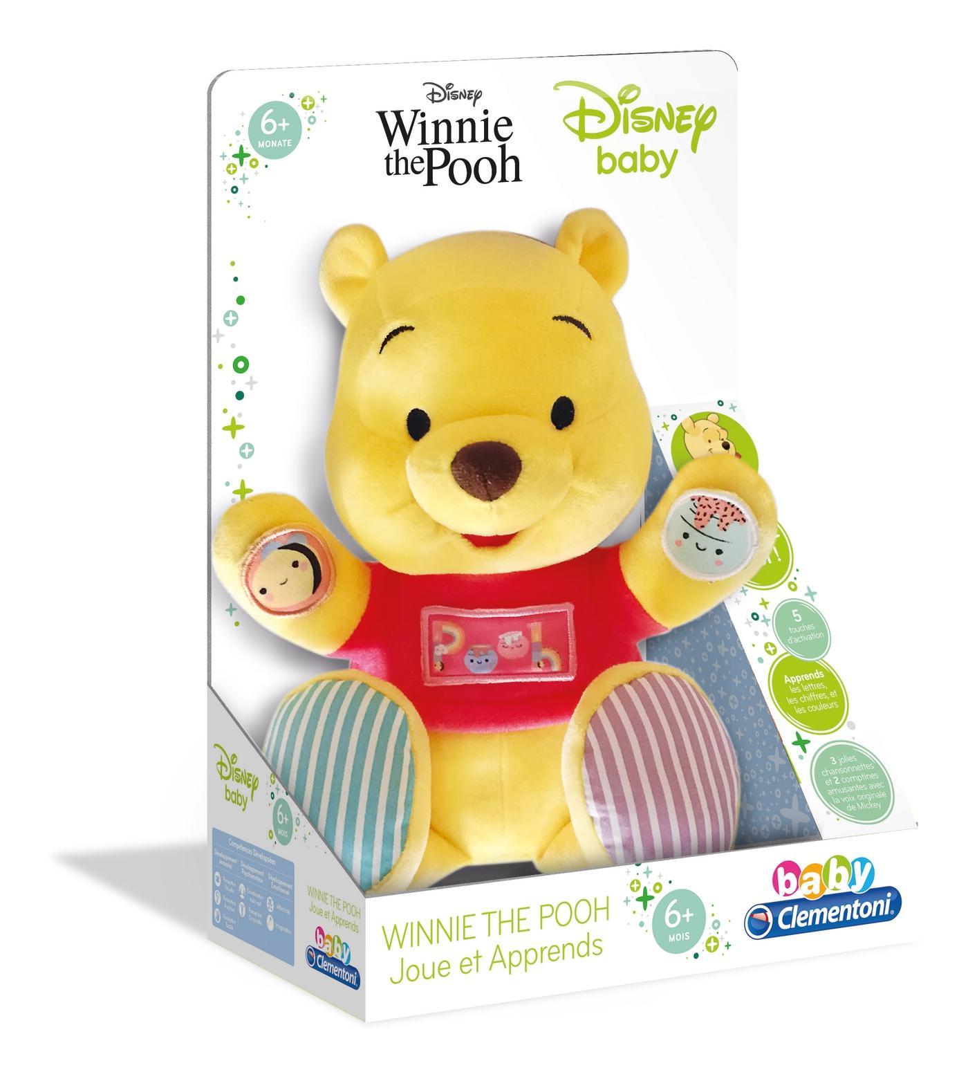 Peluche d'activités Winnie