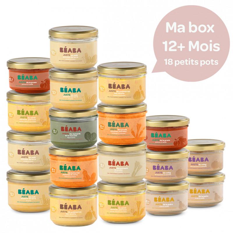 Pack 18 petits pots 12m+