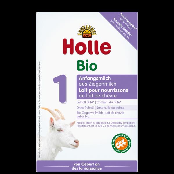 Lait pour nourrissons 1 au lait de chèvre bio