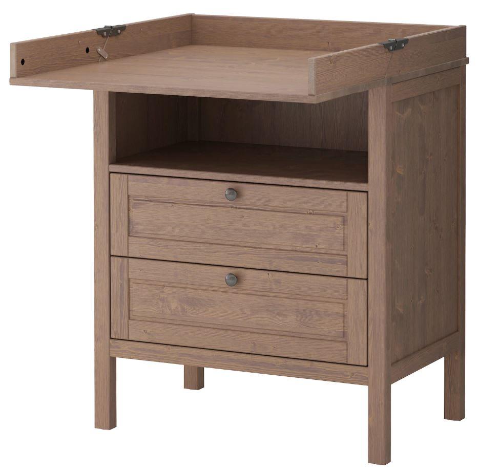 Table à langer Sundvik IKEA