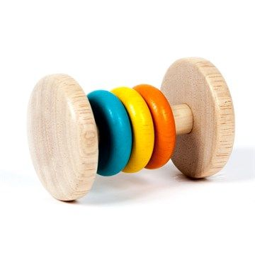 Hochet 3 anneaux 3 couleurs