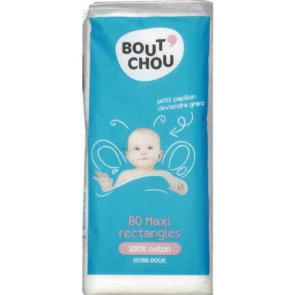 Maxi rectangles 100% coton extra doux Bout'Chou
