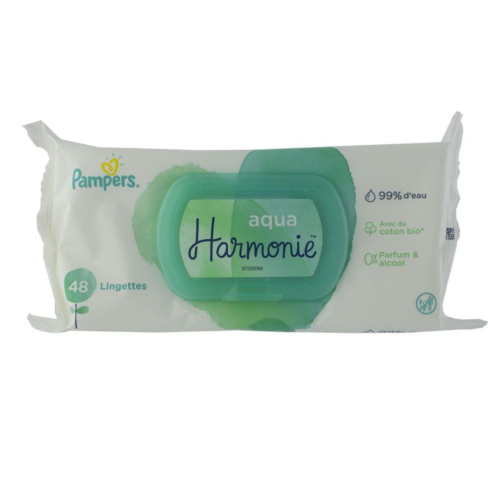 Lingettes Aqua Harmonie PAMPERS