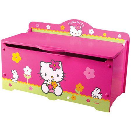 Coffre à jouets Hello Kitty FUN HOUSE