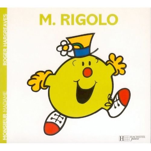 Livre Monsieur Rigolo