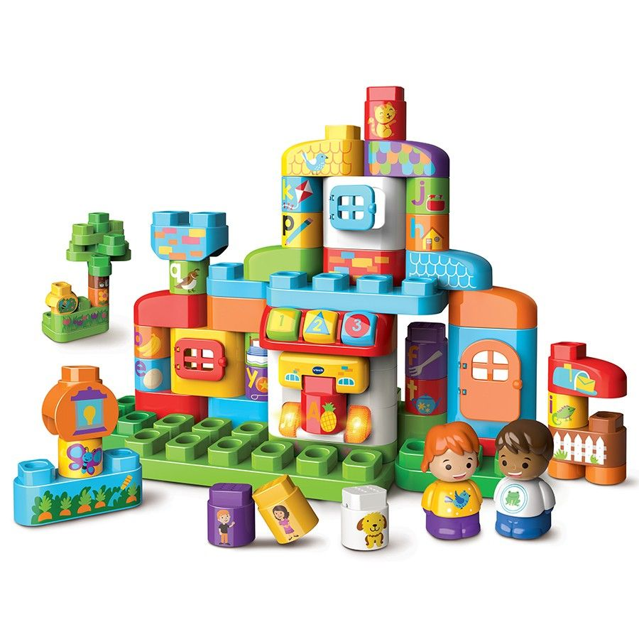 Bla Bla Blocks - Ma maison alphabet interactive