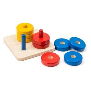 Jeu d'empilage Ateliers Montessori OXYBUL