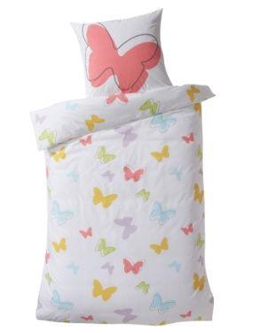 Linge de lit enfant Parure papillons  VERTBAUDET
