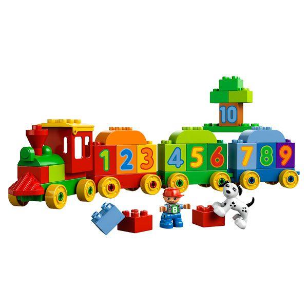Duplo - Le Train des Chiffres LEGO
