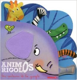 Animos Rigolos : Les couleurs de la jungle