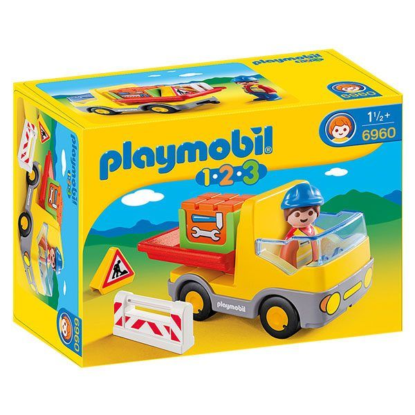 Playmobil 1.2.3 - Camion benne