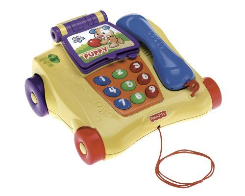 TELEPHONE J APPRENDS A COMPTER FISHER PRICE