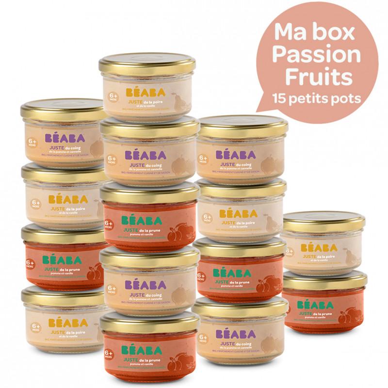 15 petits pots Passion Fruits