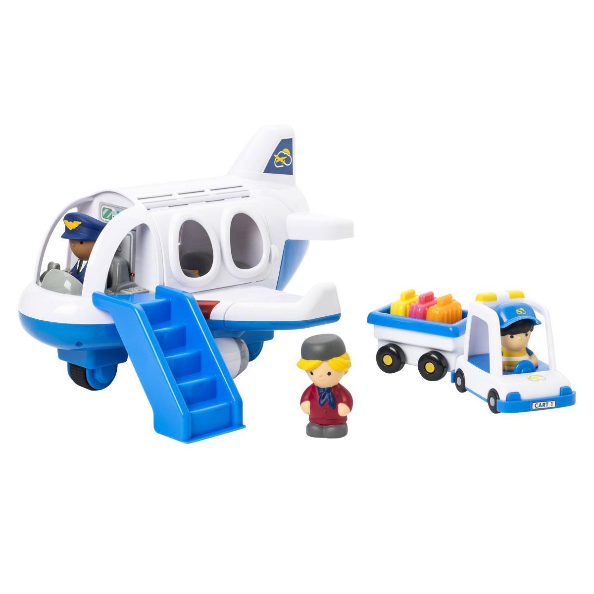 Avion sonore, lumineux et accessoires