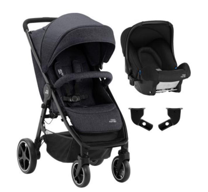 Duo Poussette B-Agile M + Coque Baby-Safe
