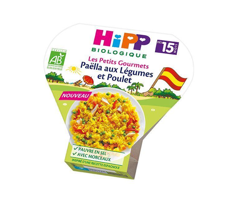 Paëlla aux Légumes et Poulet - dès 15 mois