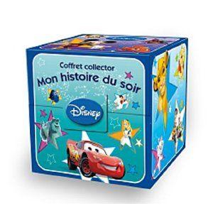 Coffret 7 livres Histoires du soir Disney