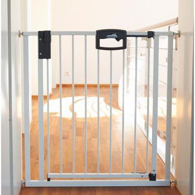 Barrière d'escaliers easylock métal 84.5 - 92.5 cm