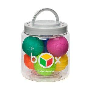 Box 6 balles sensorielles OXYBUL