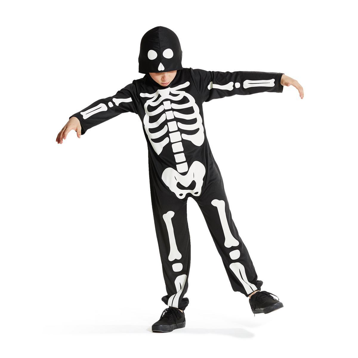 Déguisement de squelette phosphorescent