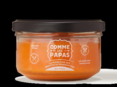 La purée fine des carottes de Monsieur Paul