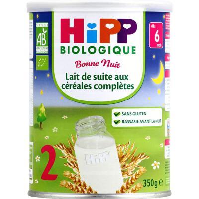 Préparation bonne nuit lait de suite céréales 350 g dès 6 mois