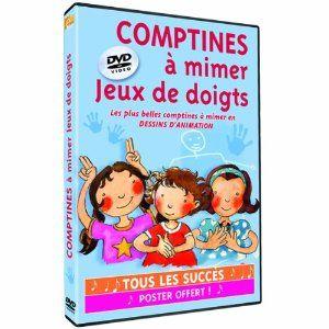 DVD Comptines à mimer : jeux de doigts EVEIL ET DECOUVERTES