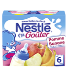 NESTLÉ - P'tit goûter Banane Pomme 2x250 ml