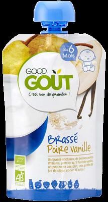 Good Gourde Brassé Poire Vanille