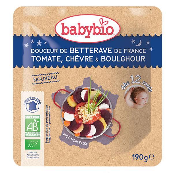 Bonne Nuit Betterave de France Tomate Chèvre Boulghour