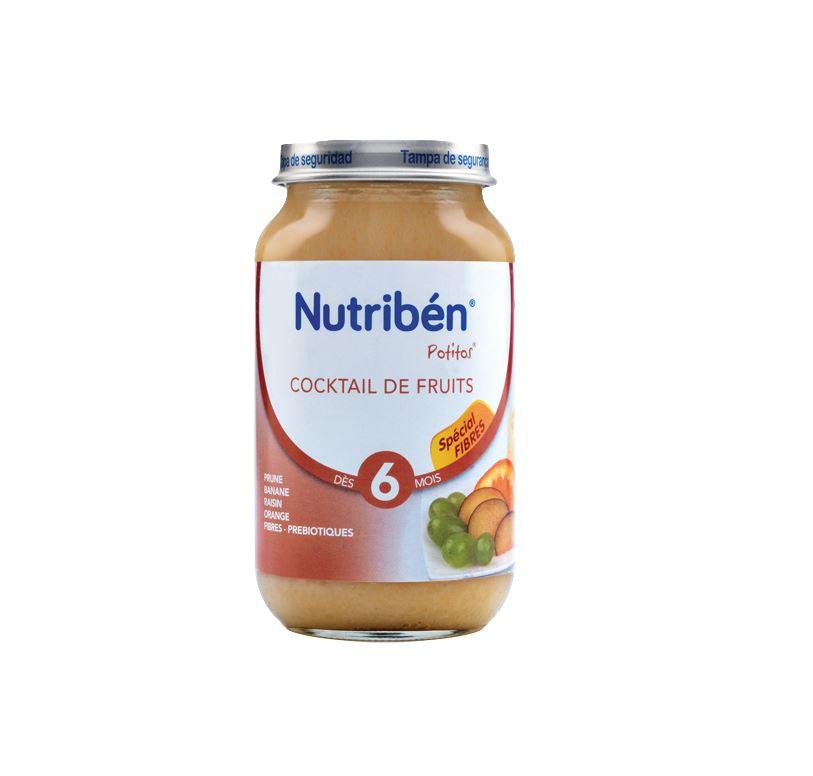 Potito Cocktail de fruits 250g
