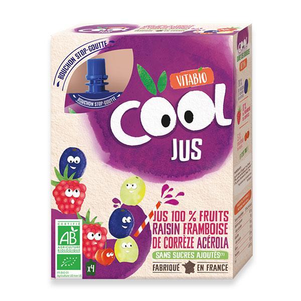 Cool Jus - Raisin Framboise de Corrèze Acérola