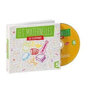 Coffret 5 CD Les maternelles