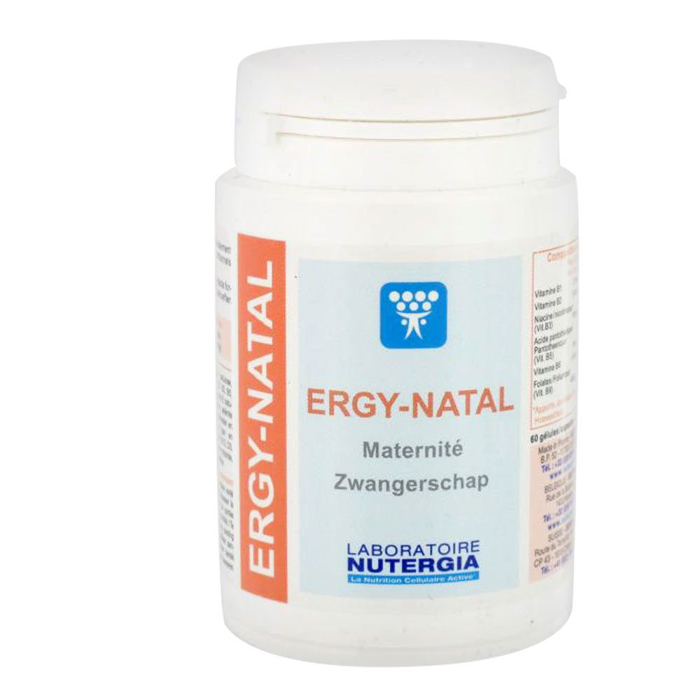 Complément alimentaire Ergy-Natal - Nutergia