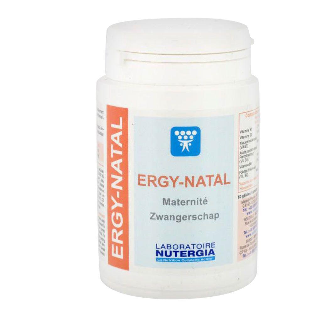 Complément alimentaire Ergy-Natal - Nutergia -