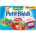 PETIT BLEDI Fraise au lait de croissance 6 x 60 g dès 6 mois