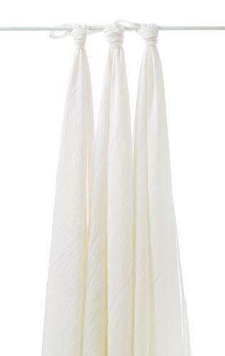 Coffret 3 Langes Mousseline de Bambou