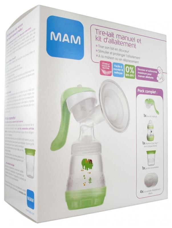 Kit tire lait manuel + kit allaitement