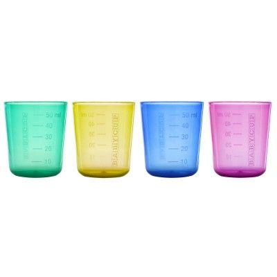 Lot de 4 minis tasses - Babycup -