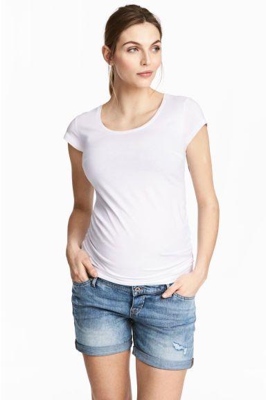 Short en jean Mama H&M